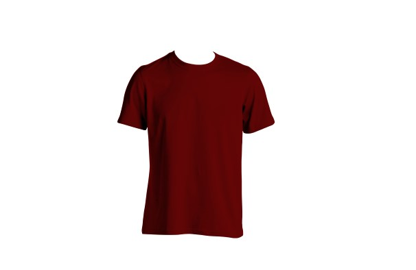 Desain Gambar Kaos Keren Warna Bronze = Merah Tua
